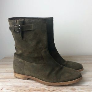 J. Crew Langston Slouchy Suede Leather Boots